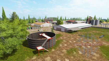 Polnische AgroFarm v0.75 für Farming Simulator 2017