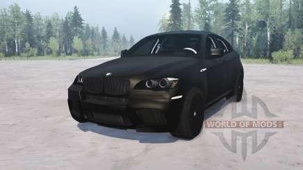 BMW X6 M für MudRunner