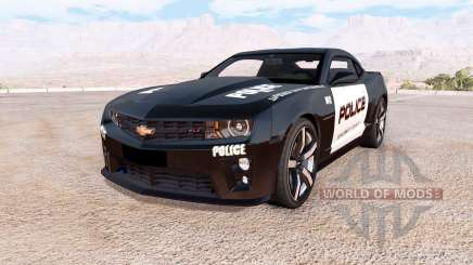 Chevrolet Camaro ZL1 Police pour BeamNG Drive