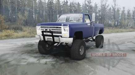 Chevrolet K20 pour MudRunner
