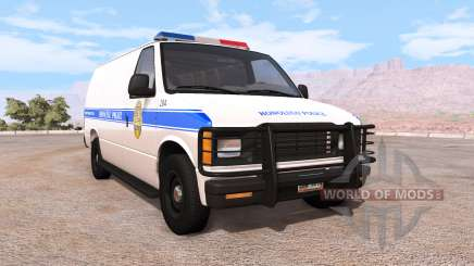 Gavril H-Series honolulu police v1.02 für BeamNG Drive