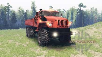 Ural 4320-41 für Spin Tires