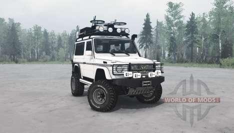 Mercedes-Benz G 500 SWB (W463) v1.1 pour Spintires MudRunner