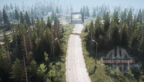 Route forestière 2 pour Spintires MudRunner