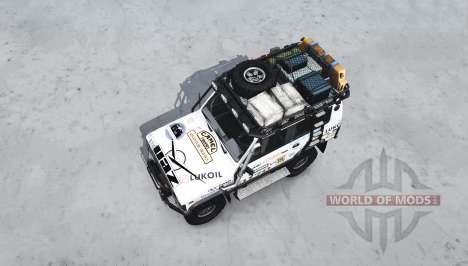 L'UAZ 3170 Terra pour Spintires MudRunner