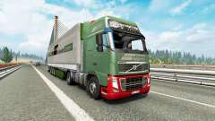 Painted truck traffic pack v3.2 pour Euro Truck Simulator 2
