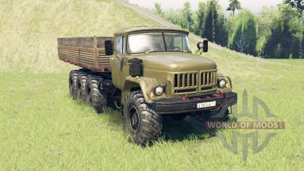 ZIL 131 8x8 pour Spin Tires