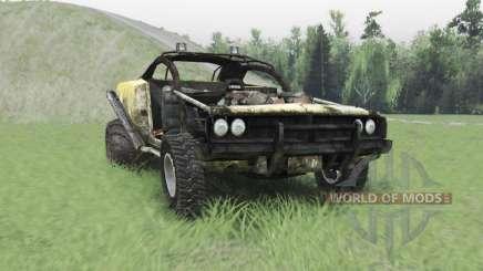 Hotrod für Spin Tires