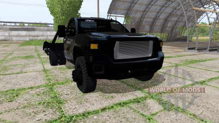 GMC Sierra tow truck für Farming Simulator 2017