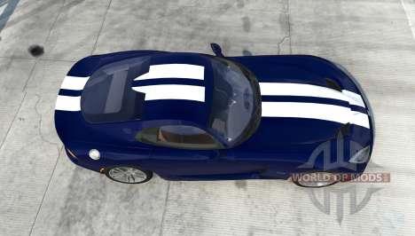 Dodge SRT Viper GTS 2013 pour BeamNG Drive