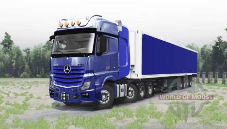 Mercedes-Benz Actros 4163 SLT (MP4) für Spin Tires