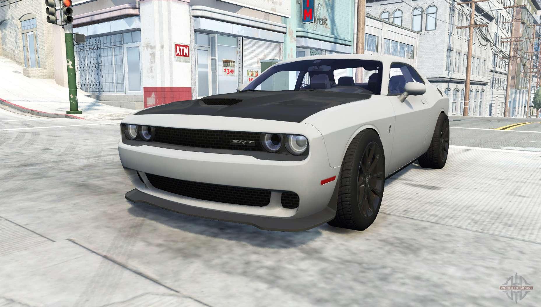 Dodge Challenger Srt Hellcat Lc Pour Beamng Drive