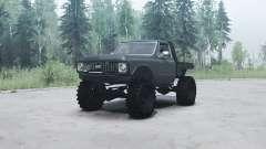 Chevrolet K10 1972 black pour MudRunner