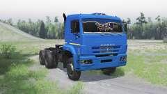 KamAZ 6522 v1.Un pour Spin Tires
