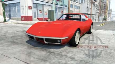 Chevrolet Corvette Stingray 1969 pour BeamNG Drive