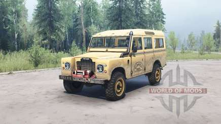 Land Rover Defender Series III pour MudRunner