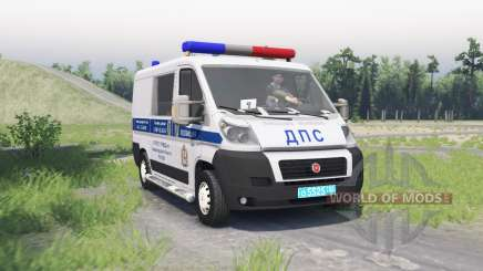 Fiat Ducato (250) ДПС pour Spin Tires