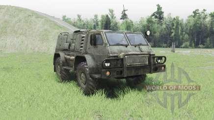 GAZ 3937 Vodnik v2.0 pour Spin Tires