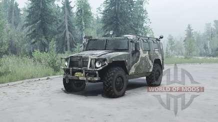 GAZ 2330 Tiger pour MudRunner