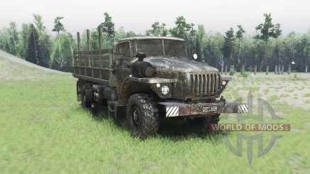 Ural 43206 v2.2.5 für Spin Tires