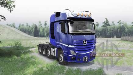 Mercedes-Benz Actros 4163 SLT (MP4) für Spin Tires