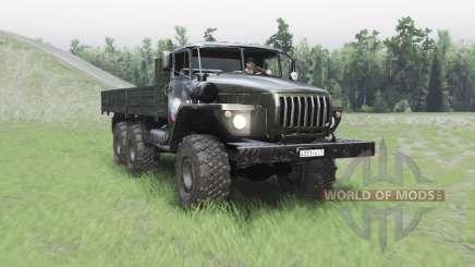 Ural 4320 für Spin Tires