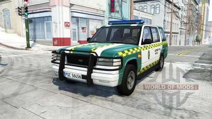 Gavril Roamer spanish police v3.6.1 pour BeamNG Drive