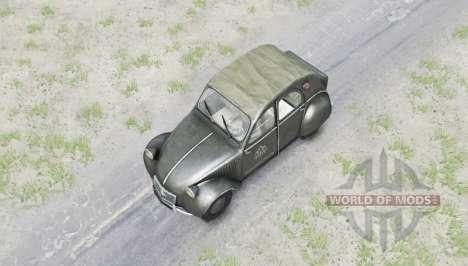 Citroen 2CV pour Spin Tires
