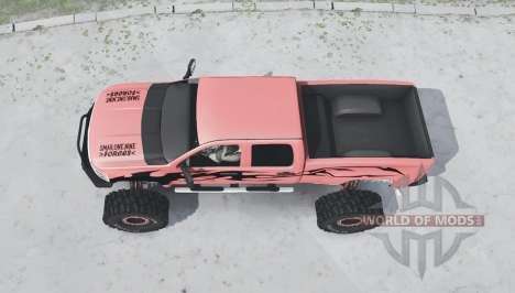 Chevrolet Silverado 2500 HD Crew Cab Duramax pour Spintires MudRunner