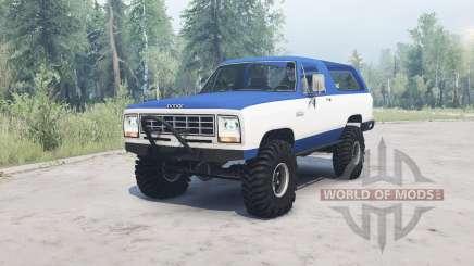 Dodge Ramcharger 1982 pour MudRunner
