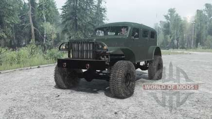 Dodge WC-53 Carryall (T214) 1942 pour MudRunner