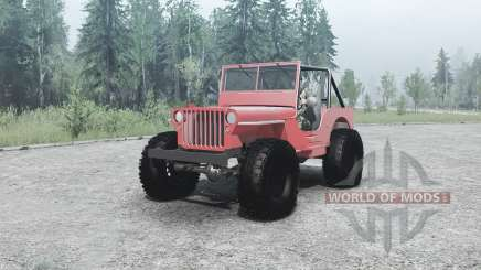 Willys MB off-road pour MudRunner