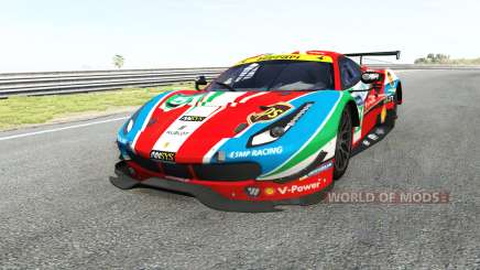Ferrari 488 GTE pour BeamNG Drive
