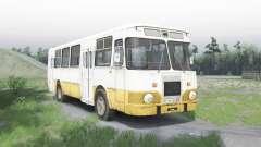 LiAZ 677 für Spin Tires