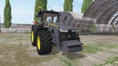 John Deere 8295R black edition für Farming Simulator 2017