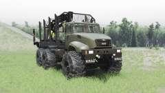 KRAZ M16.1X für Spin Tires