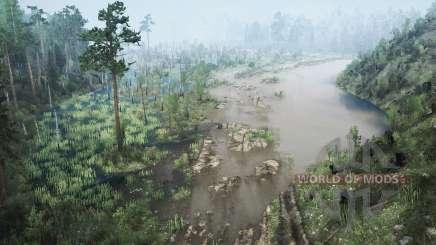 Der dunkle Wald für MudRunner