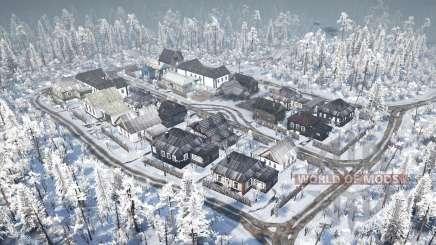 Die Freiflächen der Dörfer für MudRunner