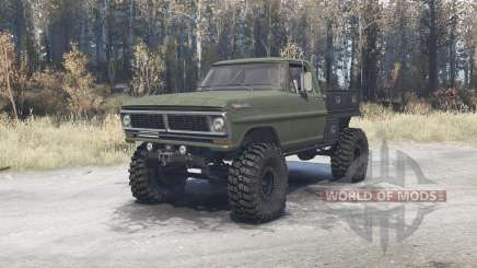 Ford F-350 1970 pour MudRunner