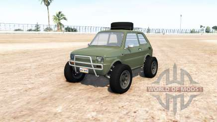 Fiat 126p v9.0 pour BeamNG Drive