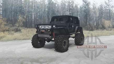 Jeep Wrangler (TJ) custom für MudRunner