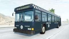 Wentward DT40L prison bus pour BeamNG Drive