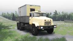 Kraz 65053 le pour Spin Tires