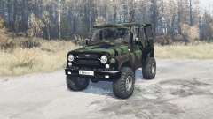 UAZ hunter (315195) expédition