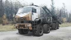KAMAZ 6560 polaire pour MudRunner