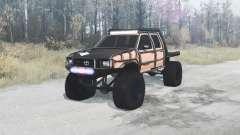Toyota Hilux Double Cab 1996 extreme für MudRunner