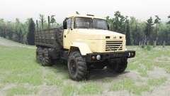 KRAZ 63221 für Spin Tires