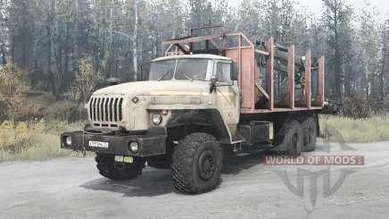 Ural 4320-1912-40 für MudRunner