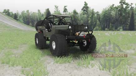 Jeep Willys MB custom pour Spin Tires