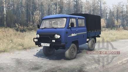 UAZ 39094 Agriculteur pour MudRunner